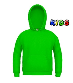 Kids Hooded Sweats grün