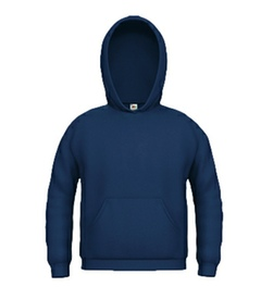 Kinder Kapuzen Sweatshirt navy