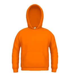 Kinder Hooded Sweat orange