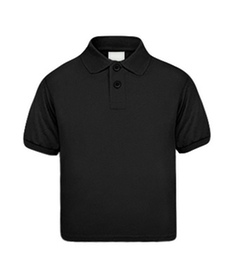 Kinder Poloshirts black