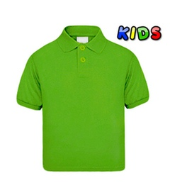 Kids Polo Shirt grün