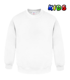 Kids Sweatshirt weiß