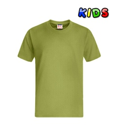 Kinder T-Shirt Green Moss
