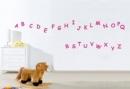 Alphabet (Wandtattoo ab 40x10cm)